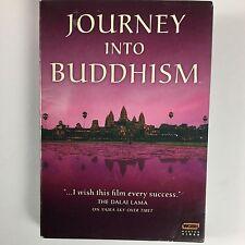Journey Into Buddhism - Box Set (DVD, 2007, 3-Disc Set) LIKE NEW FREE SHIP!