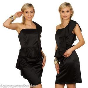 New Sexy Dress Ladies Women Black Party Elegant Cocktail Evening Sleeveless