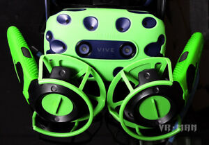 For Htc Vive Pro VR Controller Helmet Glasses Silicone Case Cover Shell New