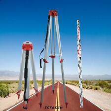 1.63m Trépied en aluminium +5m staff Mire Pour Niveau Laser Rotatif Automatique