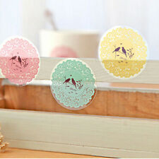 NEW Washi Paper Lace Roll DIY Decorative Sticky Masking Tape Self Adhesive CBCA