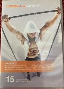 LesMills CXWORX - Release 15 - With Fitness Leaflet - 2 x CD's - EB10