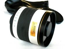Ennex Mirror Lens 800/1:8 Dx DSLR Mirror T2 Connector
