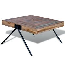 Rustic Wood Coffee Table Mid-Century Modern Reclaimed Wood Table (Free shipping)