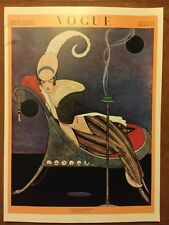 Vintage Vogue Magazine Poster July 15th 1914 Authorised 1970's Reprint 39x28cm 4