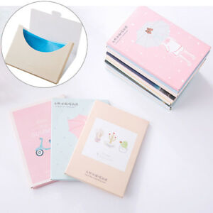 papers makeup cleansing oil absorbing face paper korea cute cartoon absorb Cw