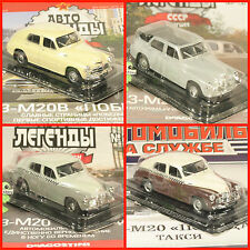 1:43 GAZ M20 M20V Pobeda cabrio TAXI UdSSR russian Deagostini Magazin USSR
