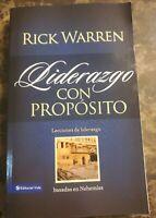 Liderazgo con Proposito Rick Warren  Leccione de Liderazgo