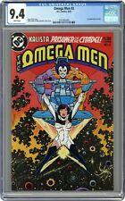 Omega Men #3 CGC 9.4 1983 3707403005 1st app. Lobo