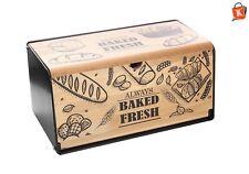 Brotkasten Brotaufbewahrung Massivholz Brotbox Brotdose Brotkorb Schneidebrett