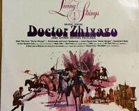 """Living Strings Music from Doctor Zhivago RCA Camden CAS-2133 12"""" 33 rpm 1967"""