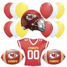 Kansas City Chiefs JUMBO Super Bowl 2020 Football Party Supplies Balloons • 16pc