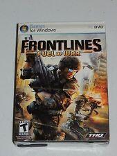 FRONTLINES FUEL OF WAR *PC GAME* NEW AND FACTORY SEALED!