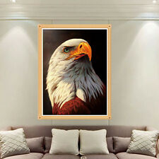 DIY 5D Round Diamond Embroidery Eagle Painting Cross Stitch Home Decor Craft