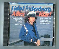 Udo Lindenberg cd ALLES KLAR © 1987 TELDEC West Germany 8.26458 alle alten Hits!