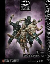 Victor Zsasz and Arkham segreti 35mm Batman miniature GAME Knight Models DC
