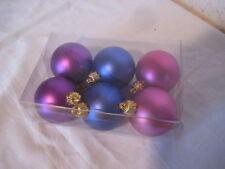 Décoration de Noel Lot de 6 boules