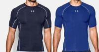 Under Armour HeatGear 2019 Mens Short Sleeve Compression T Shirt Tee Top  B133