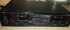Yamaha #KX-W302U Sound Stereo Double Cassette Deck Player/Recorder