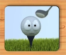 THE SAD LIFE OF A GOLF BALL MOUSE PAD -ghj9Z