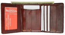 New Genuine EEL SKIN Leather MEN Trifold Wallet Bill/ID/Credit Card/Window