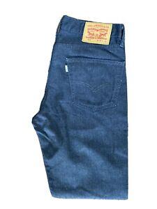 Original Levi's 511™ Slim Fit Tapered Leg Dark Grey Trousers W33 L32 ES 8020