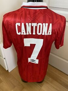 Maillot Manchester United 92/93 No 7 Cantona - Taille L Neuf !!