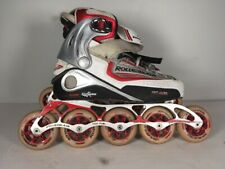 Rollerblade Inline Skates 5 Wheels Lightning Air Tf Top Fuel Mens us 8.5