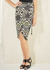 LOOK AGAIN AZTEC PRINT WRAP SKIRT SIZE 12 NEW WITH TAG
