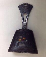 Old Vintage Black Cow Bell