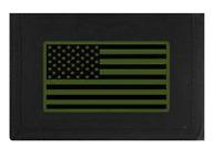 U.S. Subdued American Flag Patriotic Wallet