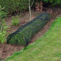 New 3m Allotment Plant Protector Garden Net Mesh Tunnel Cloche Mini Greenhouse