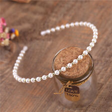 Women Charm Pearl Hair Hoop Hair Band Elegant Headband Headdress Hair Accessory