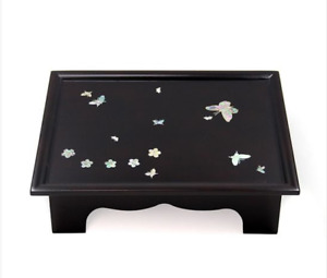 Antique Mother Of Pearl Table New Korea Traditional Vintage Coffee Oriental Home