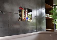 "19"" 2021 SARASON Waterproof Bathroom LED Mirror SMART OPTION TV LG Via Firestick"