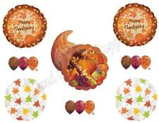 THANKSGIVING CORNUCOPIA DINNER BANQUET Balloons Decoration Supplies Pumpkin