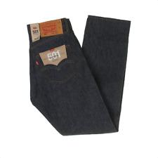 Levi 501 Original Straight Leg Button Fly Jeans, Indigo Blue, 30x30