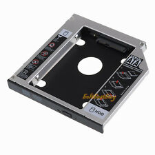 12.7mm SATA-SATA  2nd HDD caddy for ACER BENQ HP DELL ASUS TOSHIBA FUJISU SONY