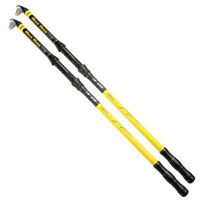 Travel Fish Carbon Telescopic Fishing Rod Spinning Freshwater Saltwater Rod Pole