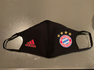 New Adidas One (1) Face Mask Cover Size Large Bayern Munich RARE Authentic