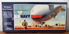 Glencoe WWII US Navy K-class Blimp U-boat Hunter Plastic model kit 1/330