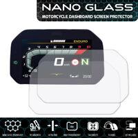 BMW R1250GS 2018+ Connectivity Nano Glass Tableau de Bord Protecteur D'Écran x 2