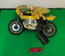 Kyosho RC Bike Motorcycle Racer, Yamaha Yellow, Kenny Roberts Style