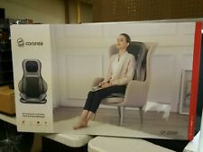Neck and Back Massager Heat Shiatsu Massage Chair Pad Portable with Air Compress