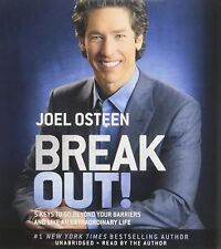 NEW 8 CD Break Out! : 5 Keys to Go Beyond Your Barriers Joel Osteen