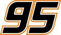 CLEARANCE!!! - NEW FOR 2018 #95 Kasey Kahne Racing Sticker Decal - CLEARANCE!!!