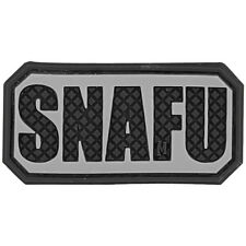 Maxpedition Snafu 3D Rubber Patch Militaire Marines Slang Grappige Badge