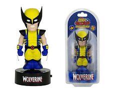 "NECA Solar Powered 6"" Marvel Comics Wolverine Body Knocker Figure"