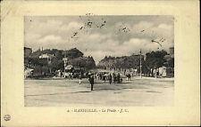 Marseille Frankreich Francre Côte d'Azur AK 1909 Le Prado Straßenbahn Carte Post