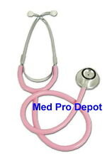 New ULTRA-SENSITIVE DUAL HEAD BRIGHT PINK STETHOSCOPE !